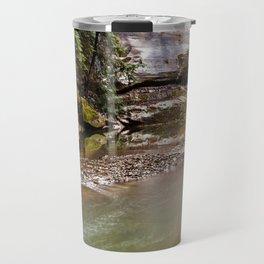 water and rock Travel Mug
