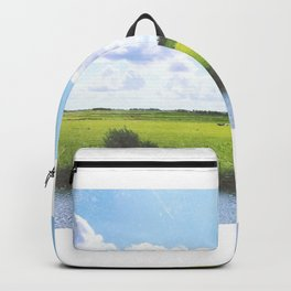 Dutch country view Backpack