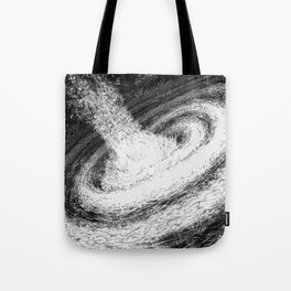 Galaxy Particles Infinite Tote Bag