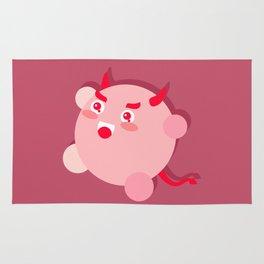 The cutest evil demon ever! Rug