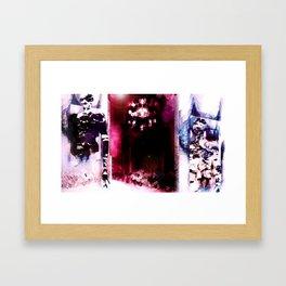 Red Tourmaline (Gatekeepers) Framed Art Print