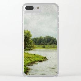 Sauvie Island Clear iPhone Case