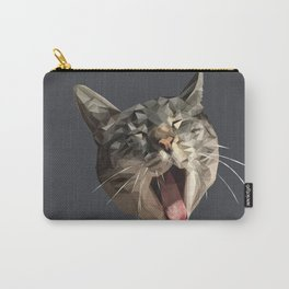 Cat Got Your Tongue? Carry-All Pouch