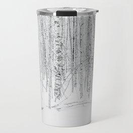 Swedish Birch Trees Travel Mug