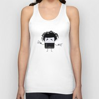 edward scissorhands Tank Tops featuring Edward Scissorhands by Francesco Dibattista