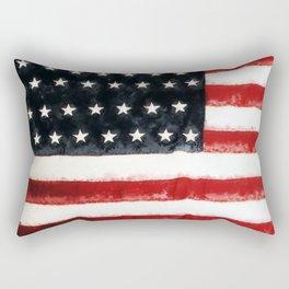 USA Flag ~ American Flag ~ Ginkelmier Inspired Rectangular Pillow