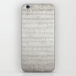 """MUSIC by collection """"Music"""" iPhone Skin"""