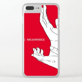 A Twin Peaks - The Antlers Homage Clear iPhone Case