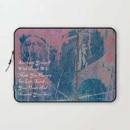 Hungry For Life Laptop Sleeve