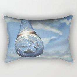 Tears In His Bottle Rectangular Pillow