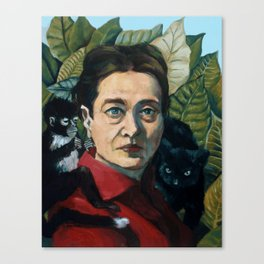 Simone DeBeauvoir Canvas Print