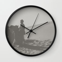 the trip to Rajasthan, India Wall Clock