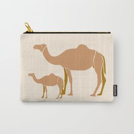 Camel Mother #draw #society6 #animal Carry-All Pouch