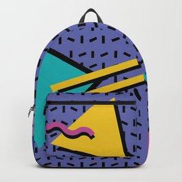 Memphis Pattern 9 - 90s - Retro Backpack