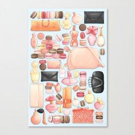 Aesthetic Taxonomies: Luxury Canvas Print