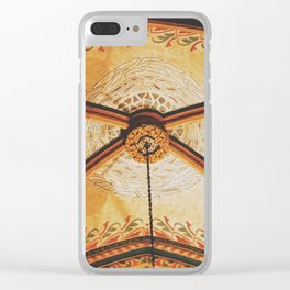 Gold On The Ceiling Clear iPhone Case