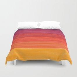 Acrylic Autumn Color Scheme Duvet Cover