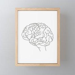 Brainstorm Framed Mini Art Print