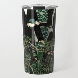 The Past and the Present, or Philosophical Thought - Henri Rousseau Travel Mug