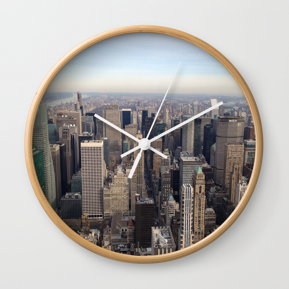 New York I Love You Clock by Lucreziasemenzato CLK929300