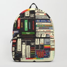 Cassettes, VHS & Games Backpack