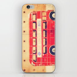 See London by Bus iPhone Skin