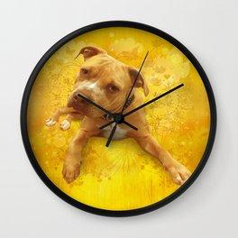CHENiLLE (dandilion) Wall Clock