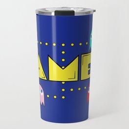 Classic Gamer: Pacman Travel Mug