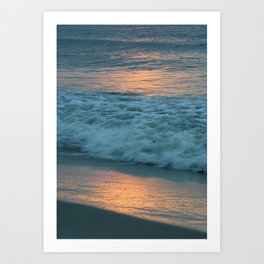 Sunrise, Jersey Shore Art Print