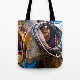 Tools of the Trade - Cowboy Saddle Closeup Tote Bag