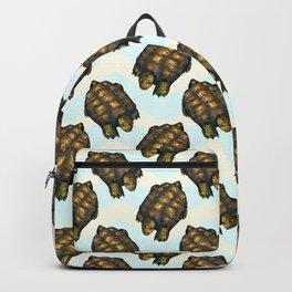 turtles chevron Backpack
