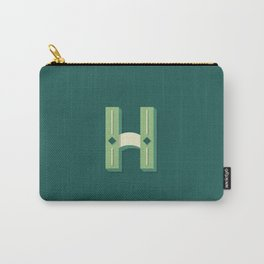 The Letter H Carry-All Pouch