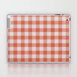 Tomato Buffalo Plaid Laptop & iPad Skin