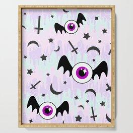 Pastel Melt Winged Eyes Serving Tray