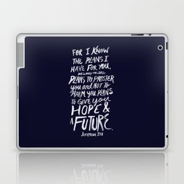 Jeremiah 29: 11 x Navy Laptop & iPad Skin