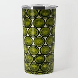 bottle tops pattern Travel Mug