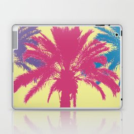 Tropical palm tree silhouettes Laptop & iPad Skin
