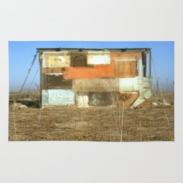 Double Exposure with Rauschenberg in Mind, 2007 Rug