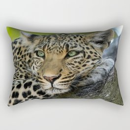Aqua_Leopard_20180101_by_JAMColorsSpecial Rectangular Pillow