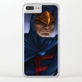 Saturday Morning Hero Clear iPhone Case
