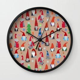 Gnomes everywhere Wall Clock