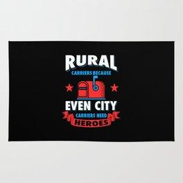 Rural Carrier Rug