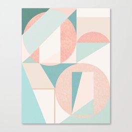 Abstract art composition Canvas Print