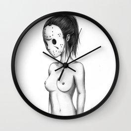 Miss Jason Wall Clock