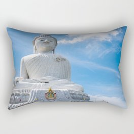 Big Buddha Rectangular Pillow