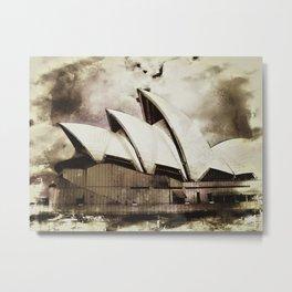 Sydney Opera House  Collection V Metal Print