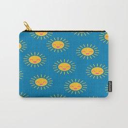 Little Sunshine (blue) Carry-All Pouch