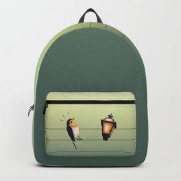 Feeling Wired (Green) Backpack