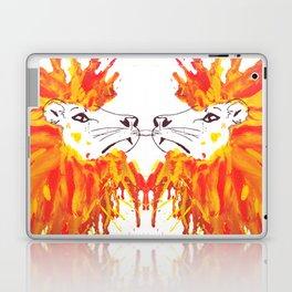 Lion Hair Laptop & iPad Skin