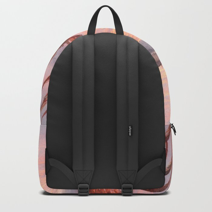 Abstract nature 03 Backpack